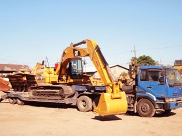 Excavator Transportasi